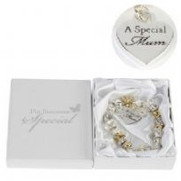 Juliana Gold/Silver Charm Bracelet With Special Mum